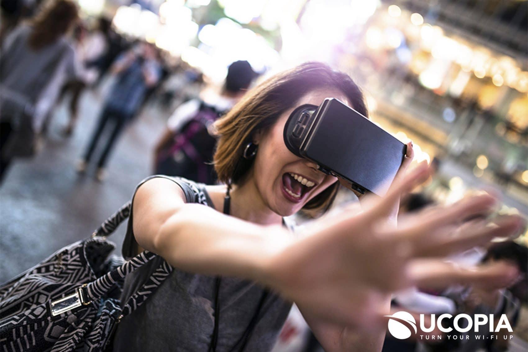 WiFi & Augmented Reality in Tourism - WiFi & Réalité augmenté pour le tourisme