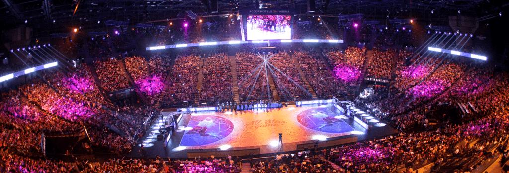 Expérience Mobile à l'AccorHotels Arena avec UCOPIA.