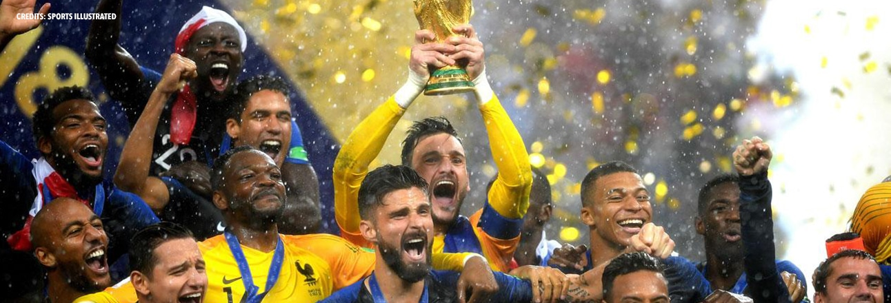 Back on the success of the FIFA WorldCup 2018 in Russia