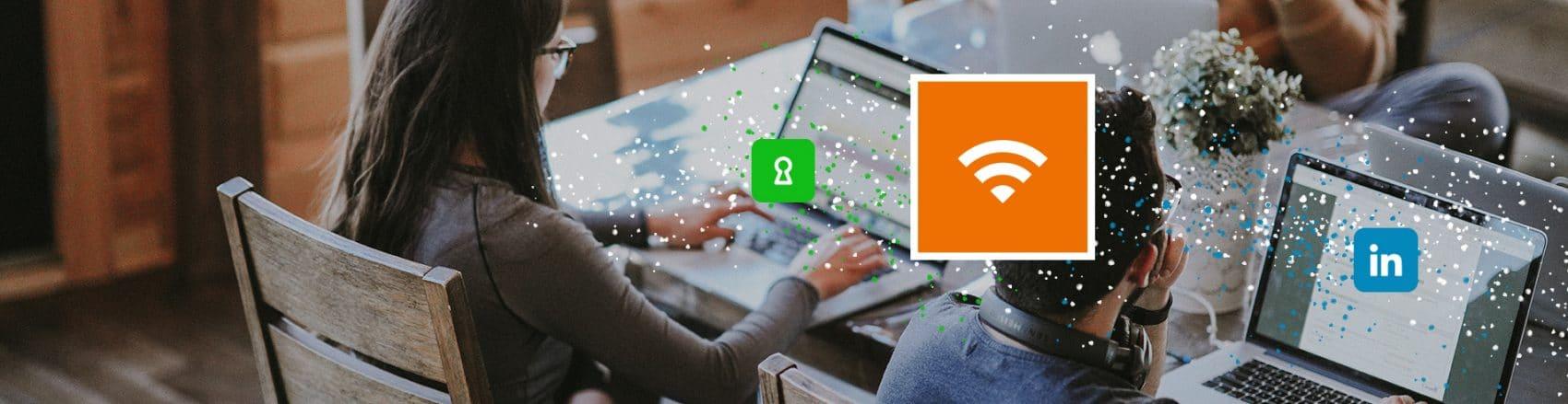Wi-Fi Entreprises : un portail sécurisé et d'engagement