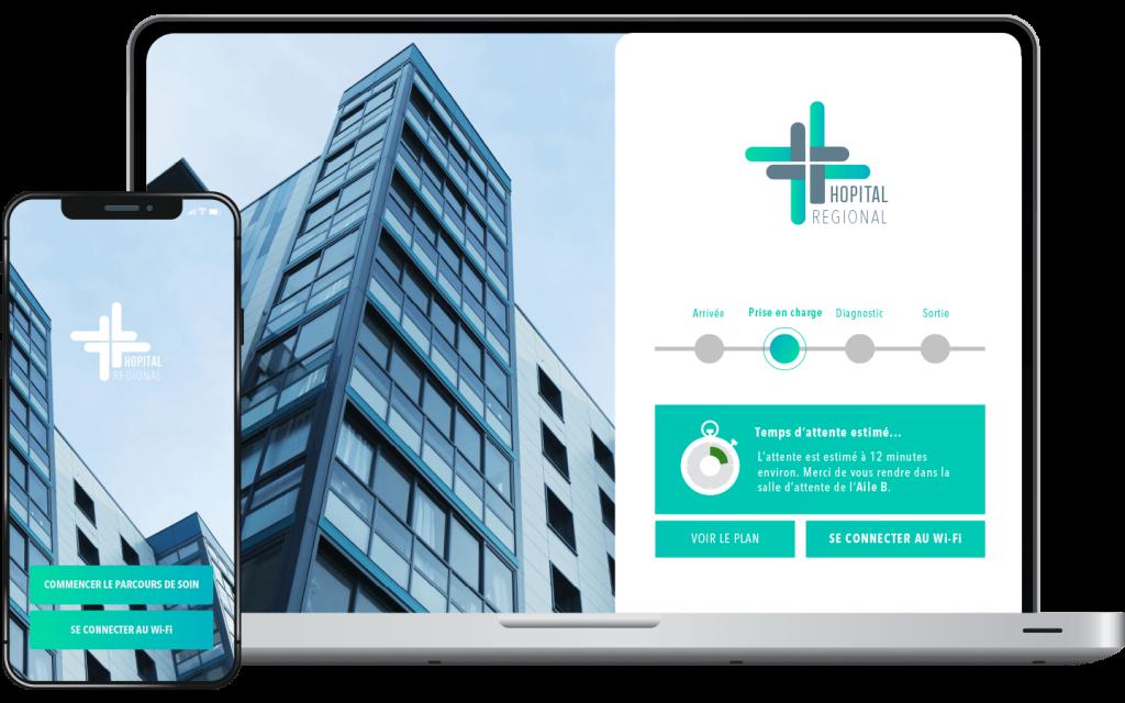 WLAN Gesundheitswesen, eine erschwingliche Innovation, um das Krankenhaus mit einem WLAN-Netz auszustatten