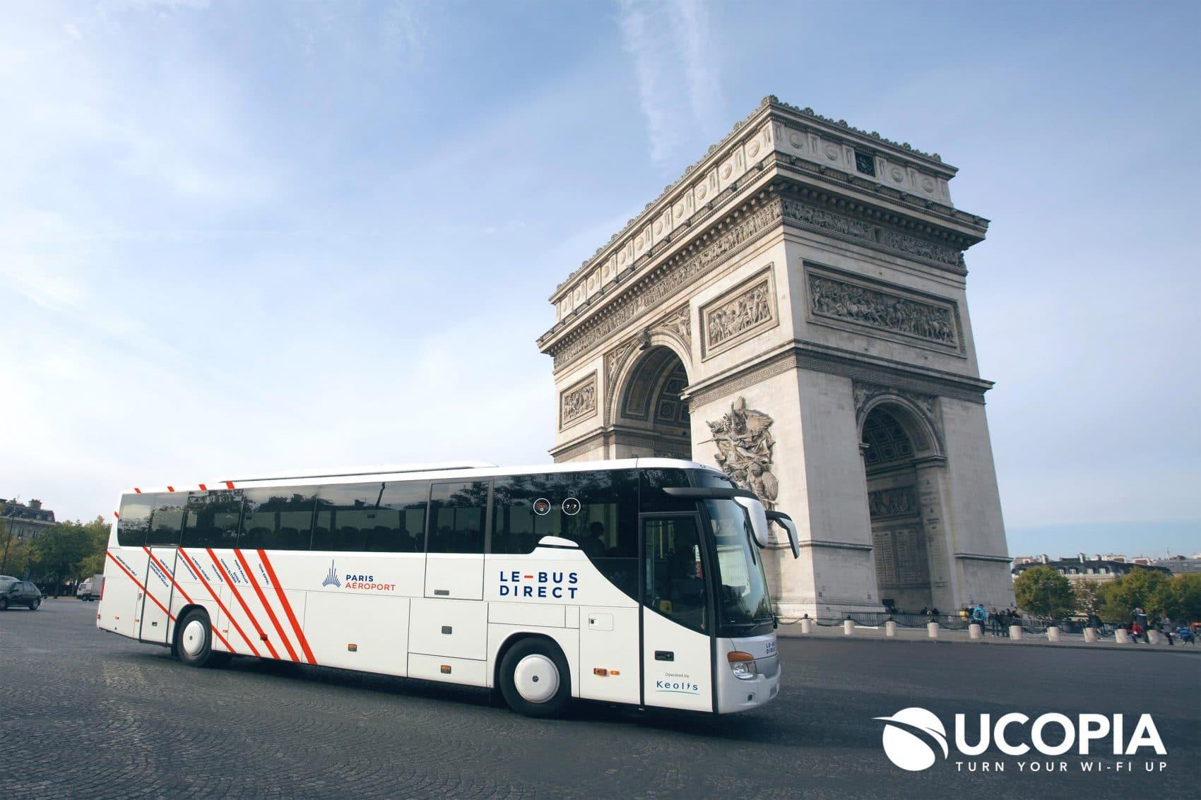 Aérolis WiFi gratuit bus aéroports - Free wifi buses airports